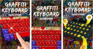 Graffiti Tema Keyboard