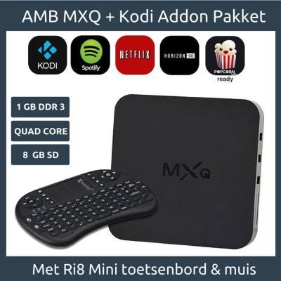 mxq android mediabox kodi pakket