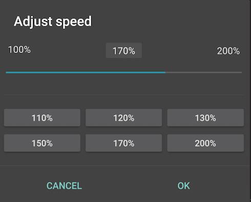 Speed Up Tempo in jetAudio