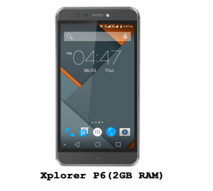 Symphony Xplorer p6(2GB RAM) price