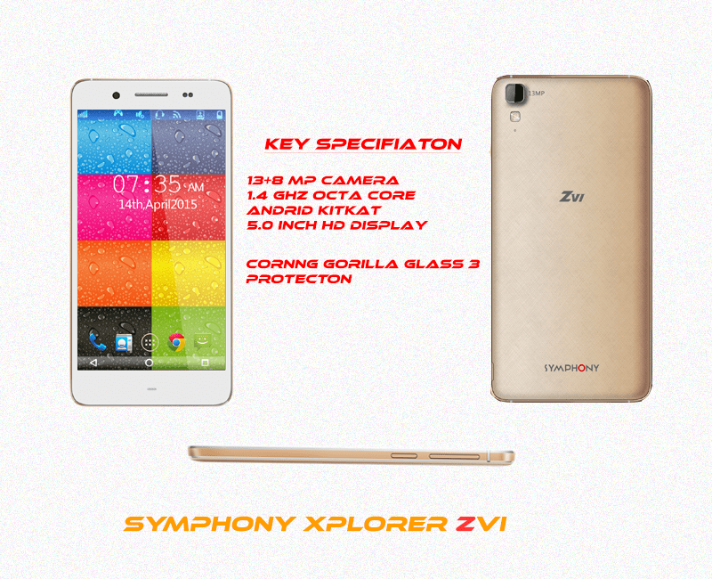 syphony xploer zvi specification