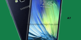 Samsung Galaxy A72016 Full Specifications Price In Bd Android