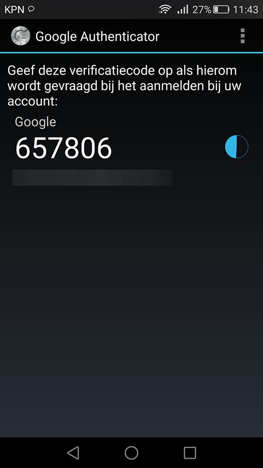 In 7 stappen Google Authenticator instellen op je Android