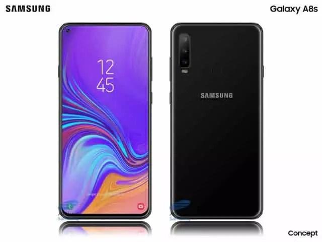 Samsung Galaxy A8s Hadir dengan Infinity-O Display dan Tiga Kamera Belakang