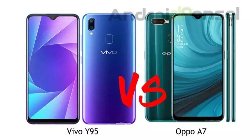 Spesifikasi HP Vivo Y95 dan Oppo A7, Lengkap!
