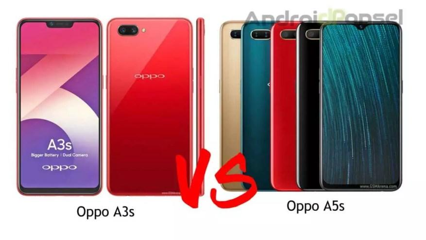 Oppo A3s dan Oppo A5s