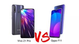 Vivo Z1 Pro VS Oppo F11