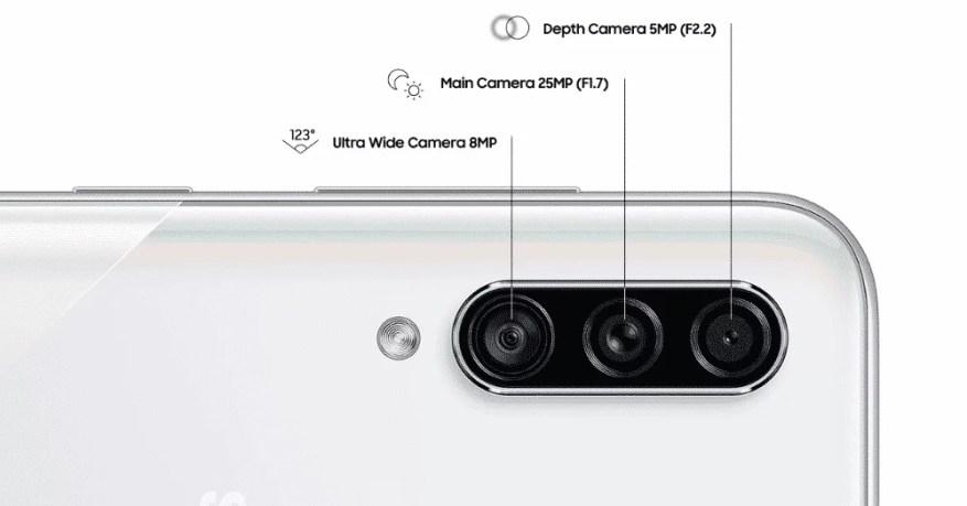 Kamera A30s