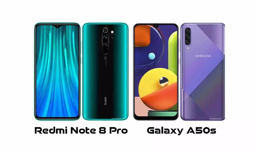 Redmi Note 8 Pro vs Galaxy A50s