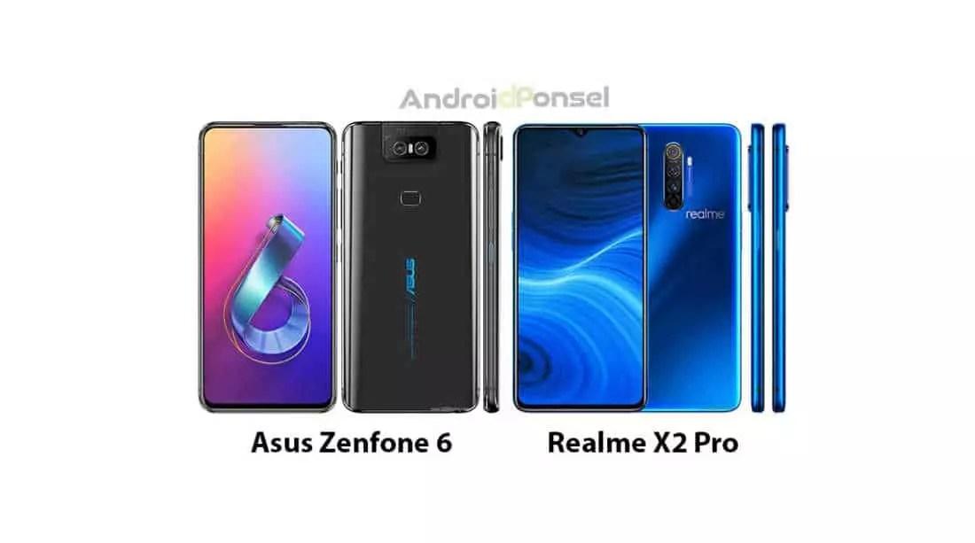 Zenfone 6 vs Realme X2 Pro