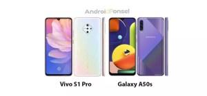 Bandingkan Spesifikasi Vivo S1 Pro vs Samsung Galaxy A50s Ponsel dengan Kamera 48MP