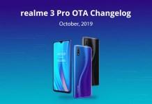 update terbaru Realme 3 Pro