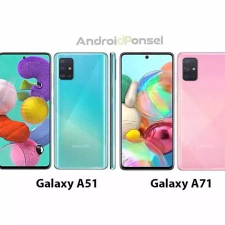 Perbandingan Spesifikasi Samsung Galaxy A51 vs Galaxy A71, Ponsel dengan Quad Camera
