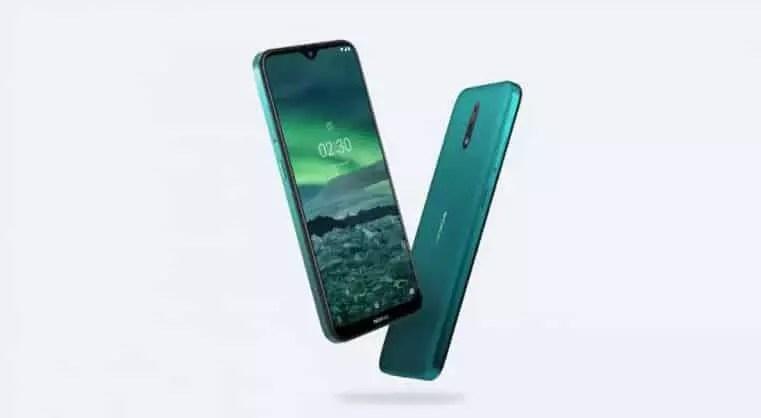 Nokia 2.3 desain