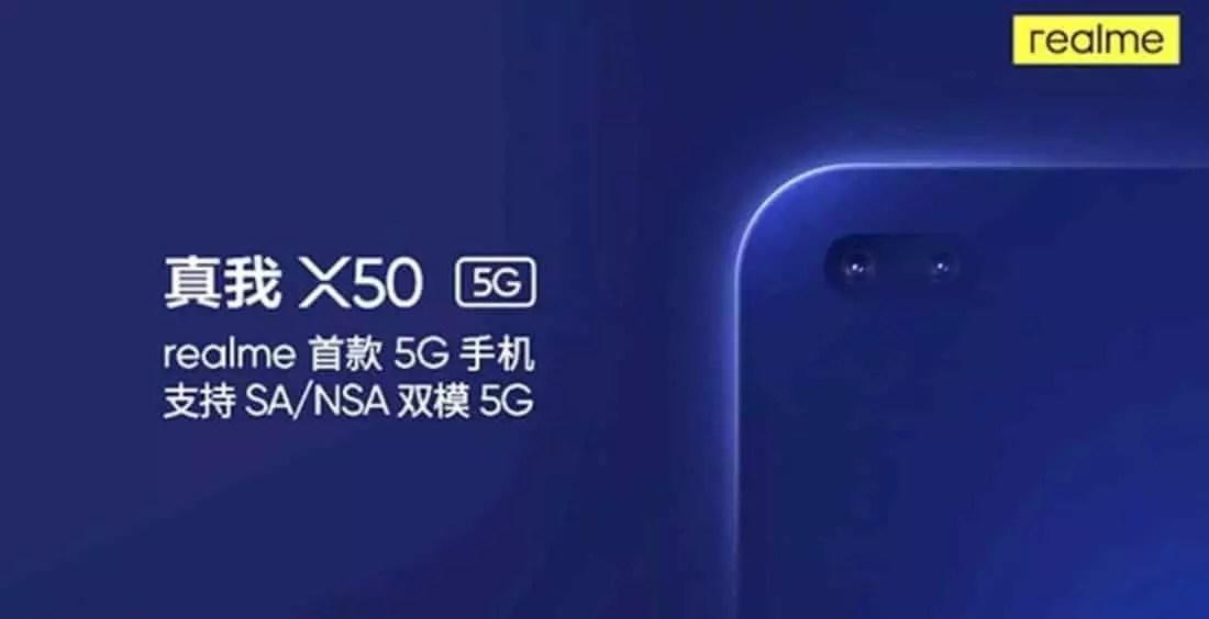 Realme X50 5G cover