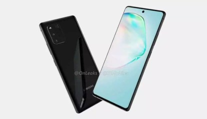Render Samsung Galaxy A91 Terkuak
