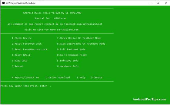 Android Multi Tools V1.02b
