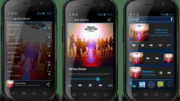 cyanogenmod 9 music App - Home