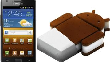 Galaxy S II ICS - Home