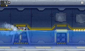 Jetpack Joyride Wave Rider -  Jetpack Joyride gets a bug fix update to unlock the Wave Rider