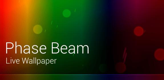 Phase Beam Live Wallpaper