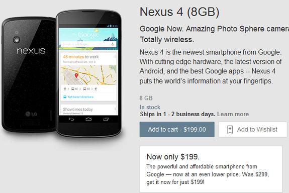Nexus 4 8GB