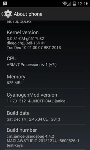 CyanogenMod 11 SGSA
