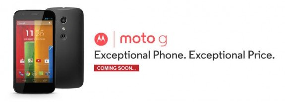 Moto G Coming Soon at Flipkart