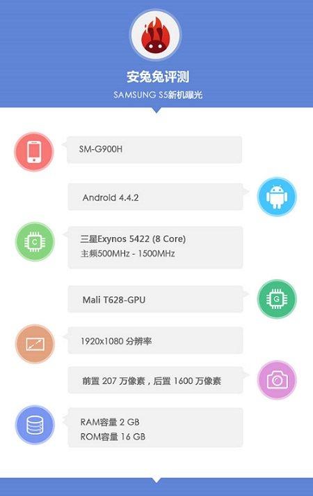 Galaxy S5 G900H