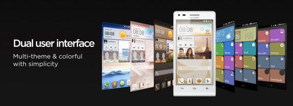 Huawei Ascend G6 Dual UI