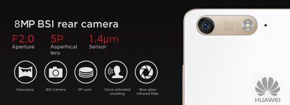 Huawei Ascend G6 Rear Camera