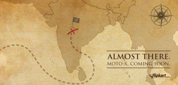 Moto X Coming soon to India Flipkart