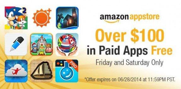 Amazon Appstore June 27 28 2014 Promo