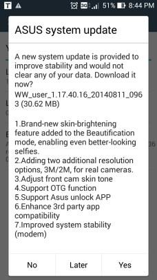 ASUS Zenfone 5 Update OTG Support added 2 - ASUS Zenfone 5 gets OTG support via system update