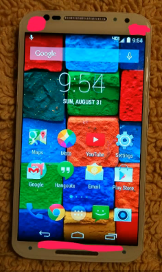 Motorola Moto X+1 Front Sensors