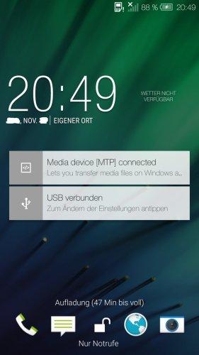 Android Lollipop HTC Sense 6 a