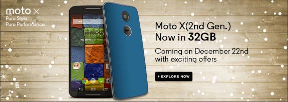 Moto X 2nd Gen 32 GB India