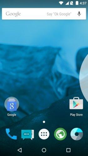 Cyanogenmod 12 Moto G Google Now Launcher