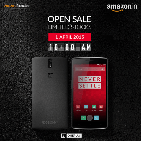 Oneplus open sale india april 1st (no joke)