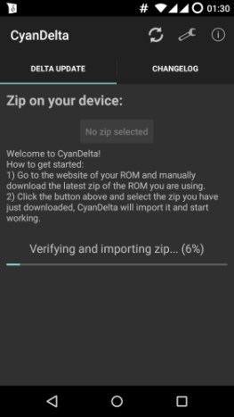 MotoG-XT1033-CyanogenMod-121-CyanDelta-Verify-Zip