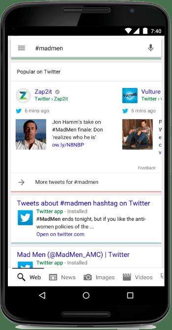 Twitter-Google-Search