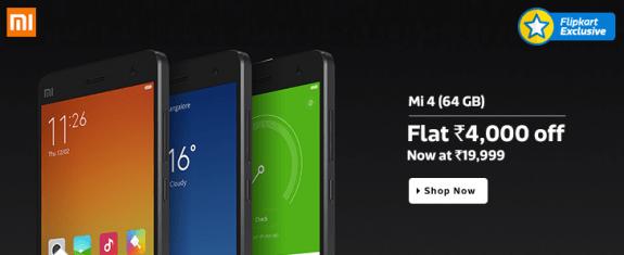 Xiaomi-Mi4-Price-Cut-Now-19999-Rupees-Flipkart