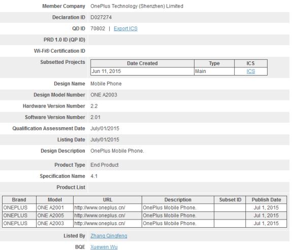 OnePlus2-Bluetooth