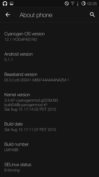 OnePlusOne-CM12.1-Buggy-Update