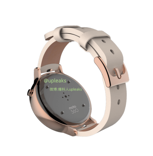 Moto 360 v2 leaked sensors - Moto 360 v2 leaks again, first images which show the back of the upcoming smartwatch