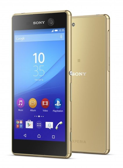 Sony Xperia M5 Dual Gold India