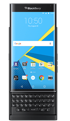 Blackberry PRIV render