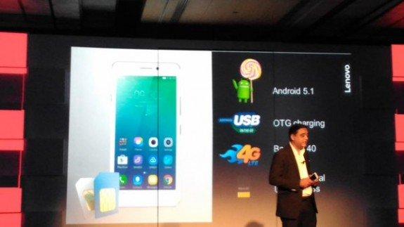 Lenovo Vibe P1 android Lollipop
