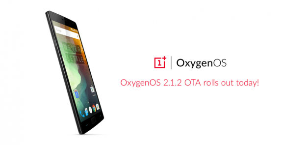 Oxygen OS 2.1.2 OTA Update OnePlus 2 X