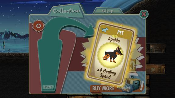 Fallout Shelter Pet unlock